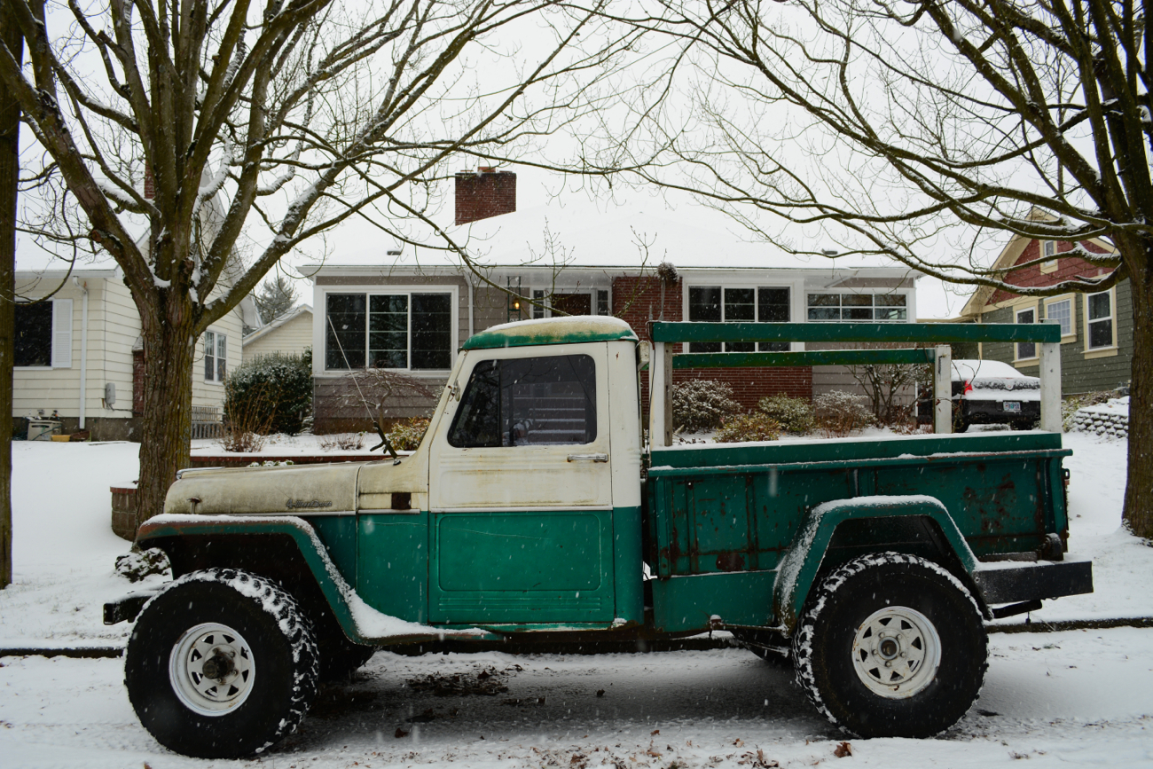 Old Parked Cars 1959 Willys Jeep Pickup 1941 Trucks Related Posts 1955 Ford Ranch Wagon