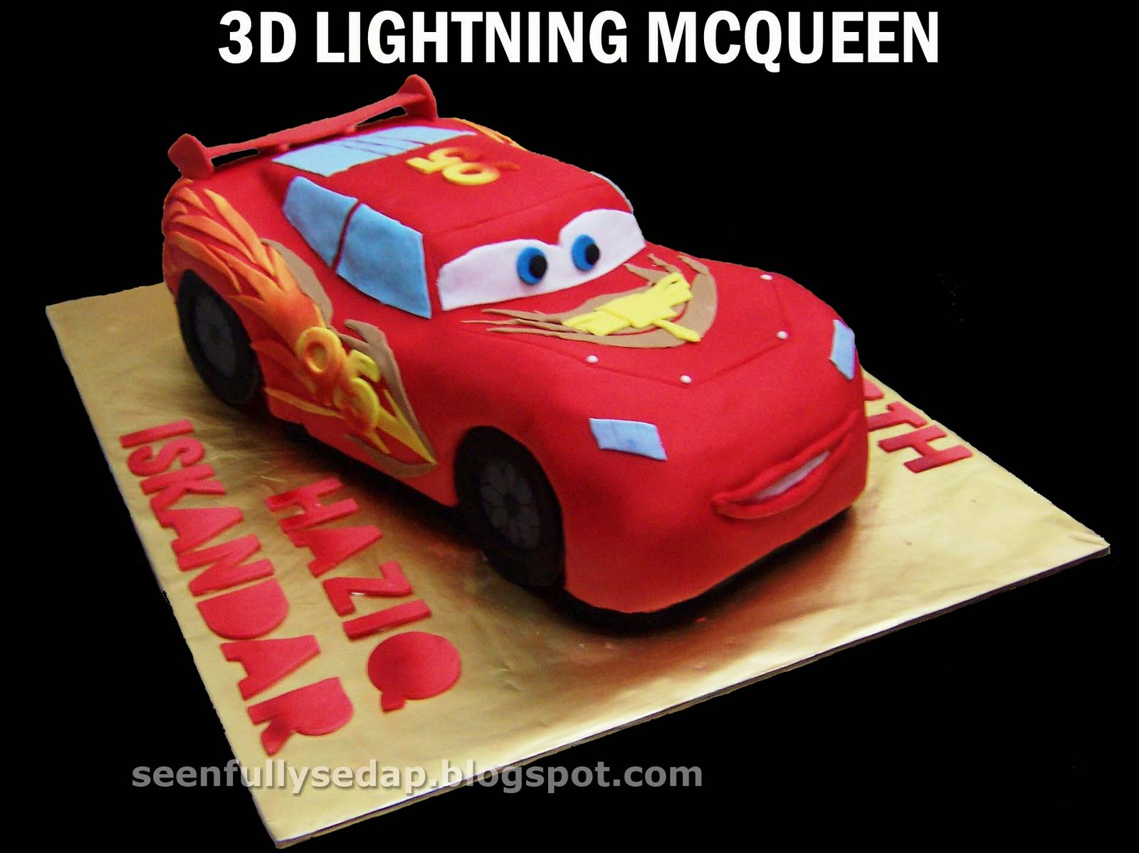 Lightning Mcqueen Birthday Cake Uk Image Inspiration of Cake and