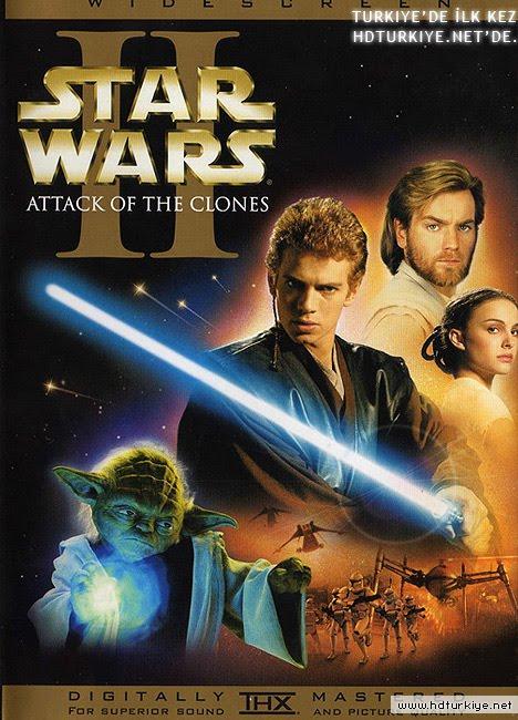 yıldız savaşları 2 gizli tehlike sinema filminin afişi