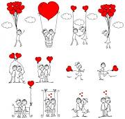 Demonstre seu Amor Todos os Dias. Não deixe para Amanhã! (amor ilustrador vector )