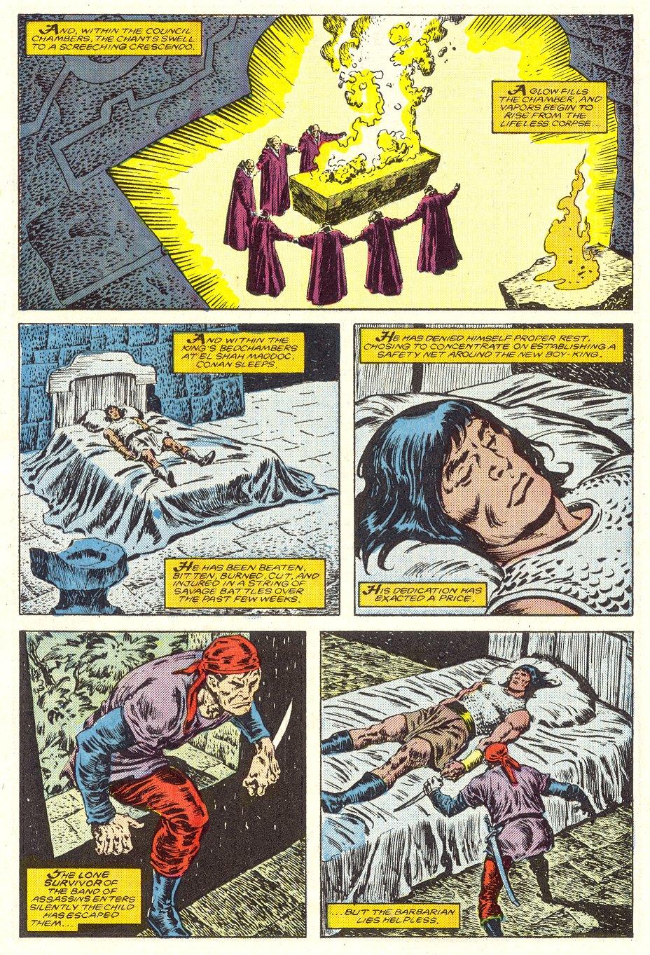Conan the Barbarian (1970) Issue #187 #199 - English 19