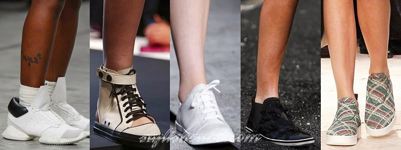 Spring Summer 2014 Women's Sneakers Fashion Trends