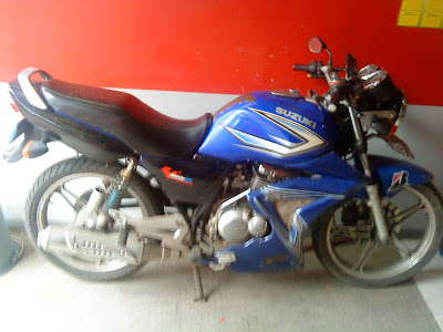 Suzuki thunder 125 Modifikasi
