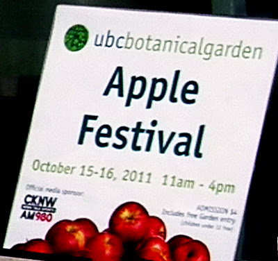 2011 Apple Festival - UBC Botanical Garden