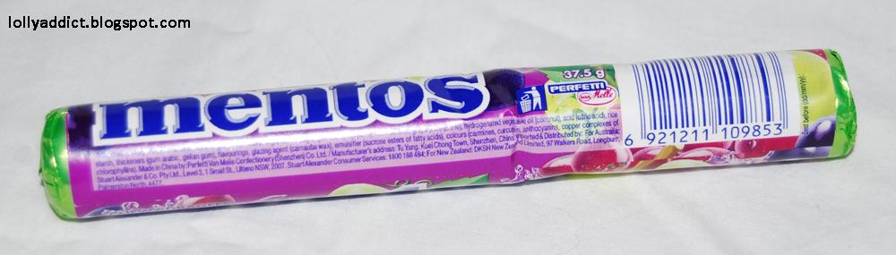 Mentos Grape Roll 37.5g