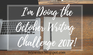 My October Challenge to You!
