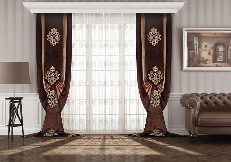 salon fon perde modelleri elif perde. Black Bedroom Furniture Sets. Home Design Ideas