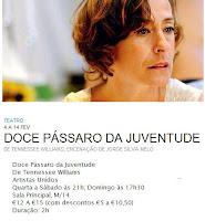 Artistas Unidos e Tennesee Williams no S. Luiz