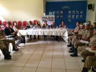 Prata sedia reunião das PMs da região