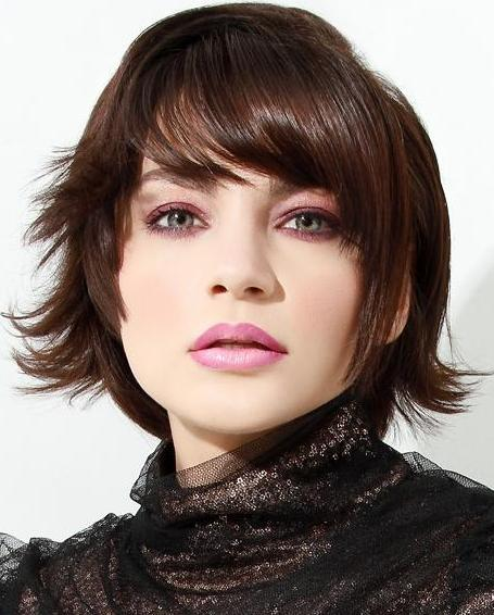 Short Layered Bob Hairstyles With Bangs: CUTE MEDIUM HAIRCUTS: September 2012