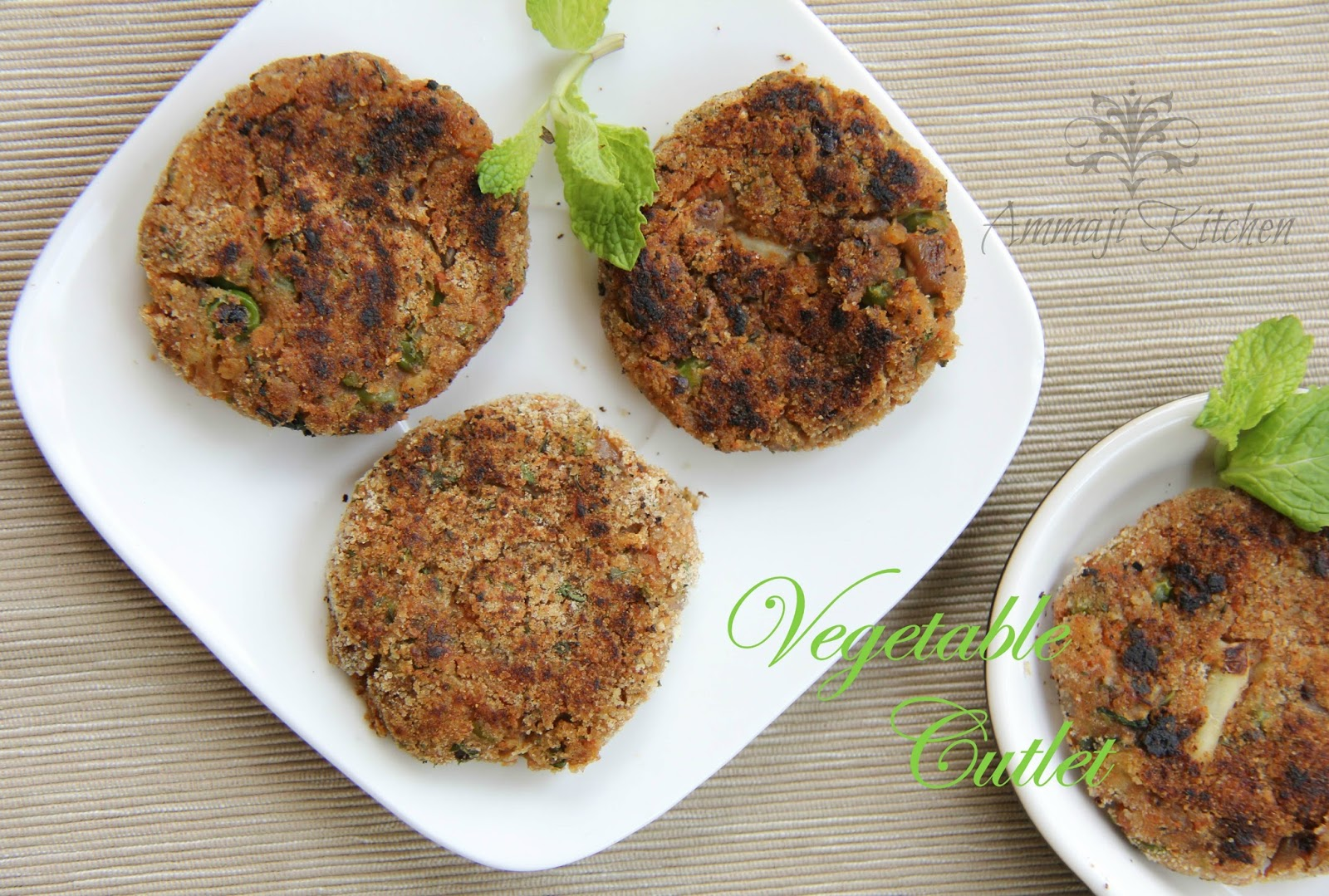 Green Peas Cutlets