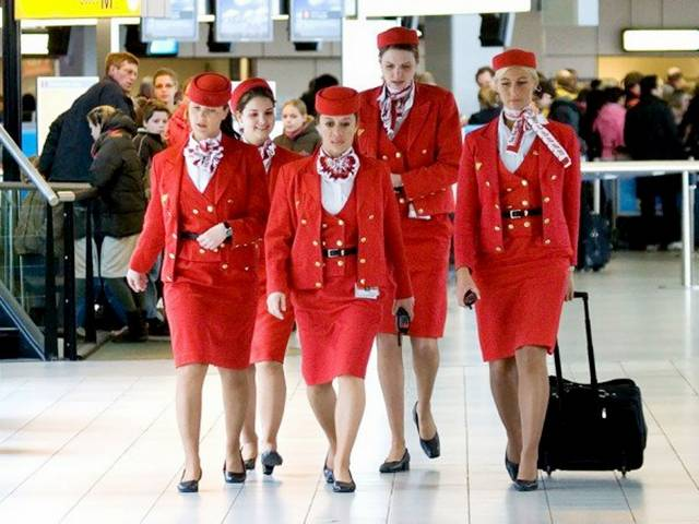 12Netherlands252CMartinairAirHostess - Air Hostess From Different Countries