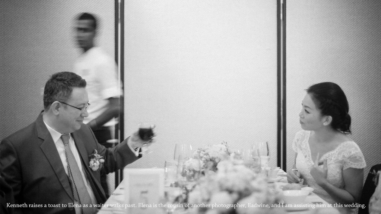 wedding photography singapore table