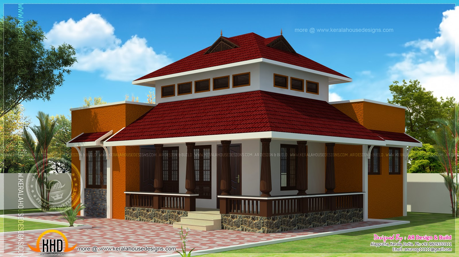 900 residence office rest house in 4 cent land Rest house plan