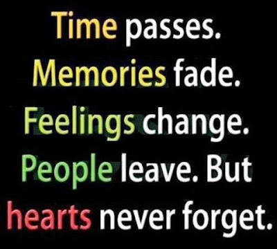 Time passes.