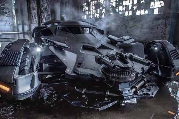 Batimóvil Batman vs Superman