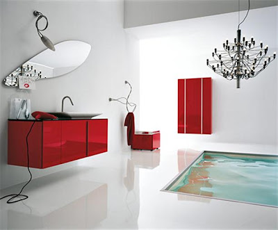 Contemporary Italian white Bathroom Design Ideas