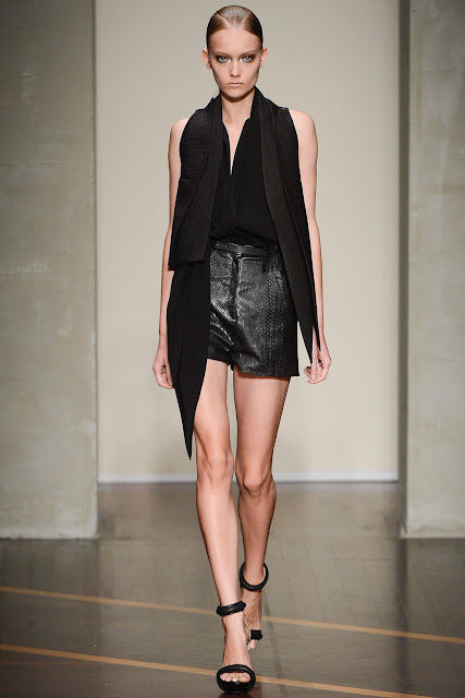 Milan Fashion Week S/S 2013: Katya Riabinkina in Gianfranco Ferre show