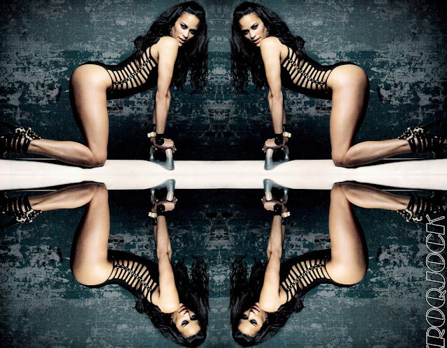 Paula Patton poses for Complex Magazine December 2011