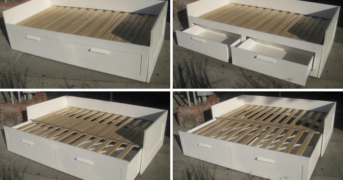 uhuru furniture collectibles sold brimnes daybed with 2 drawers 145. Black Bedroom Furniture Sets. Home Design Ideas
