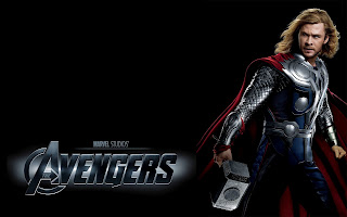 The Avengers Thor Chris Hemsworth HD Wallpaper