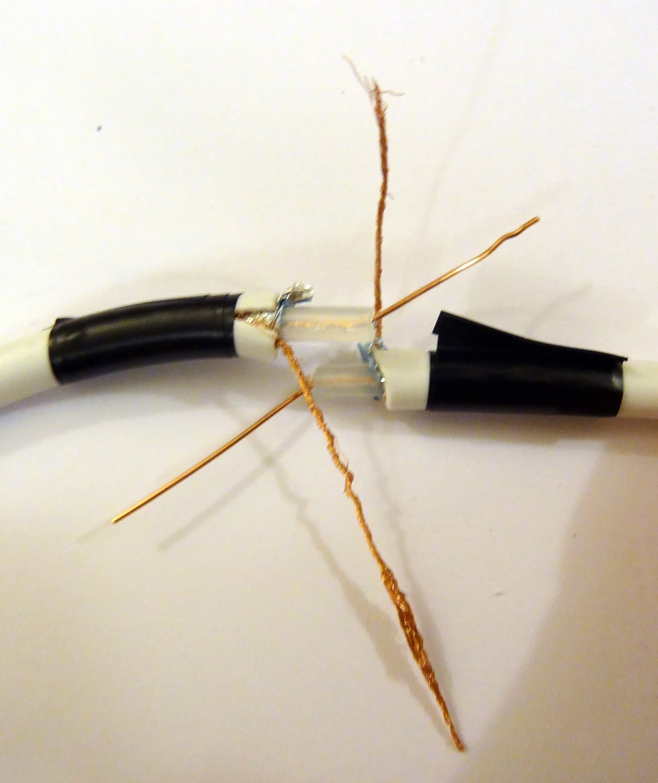 how to cut a 1 4 wave cable 144mhz