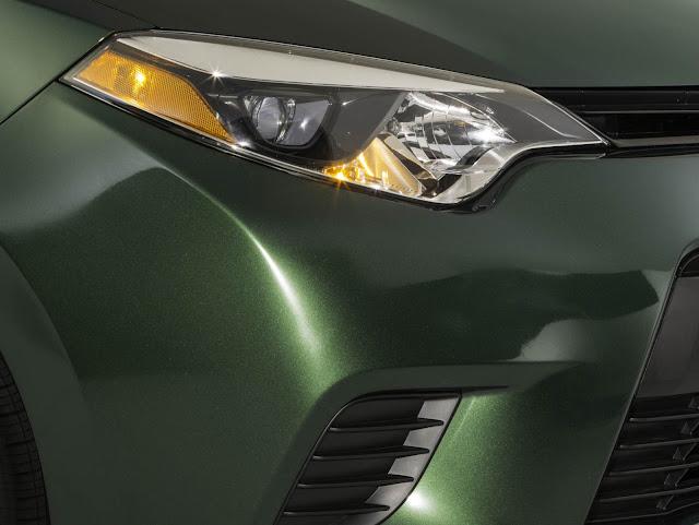 Novo Corolla 2014 - faróis de LED