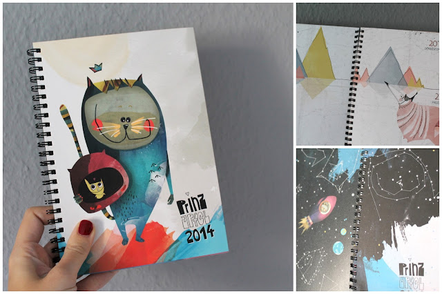 Prinz Apfel Taschenkalender A5 2014