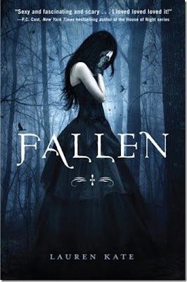 FALLEN by Lauren Kate Cover Art