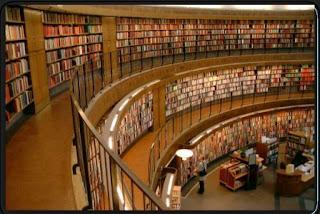 gambar perpustakaan termodern