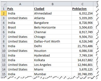 Listas desplegables dependientes – otra versión (Vba) ~ JLD Excel ...