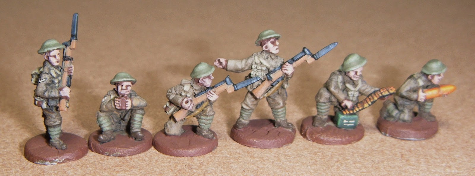 Breakthrough Assault: Painting Tommies