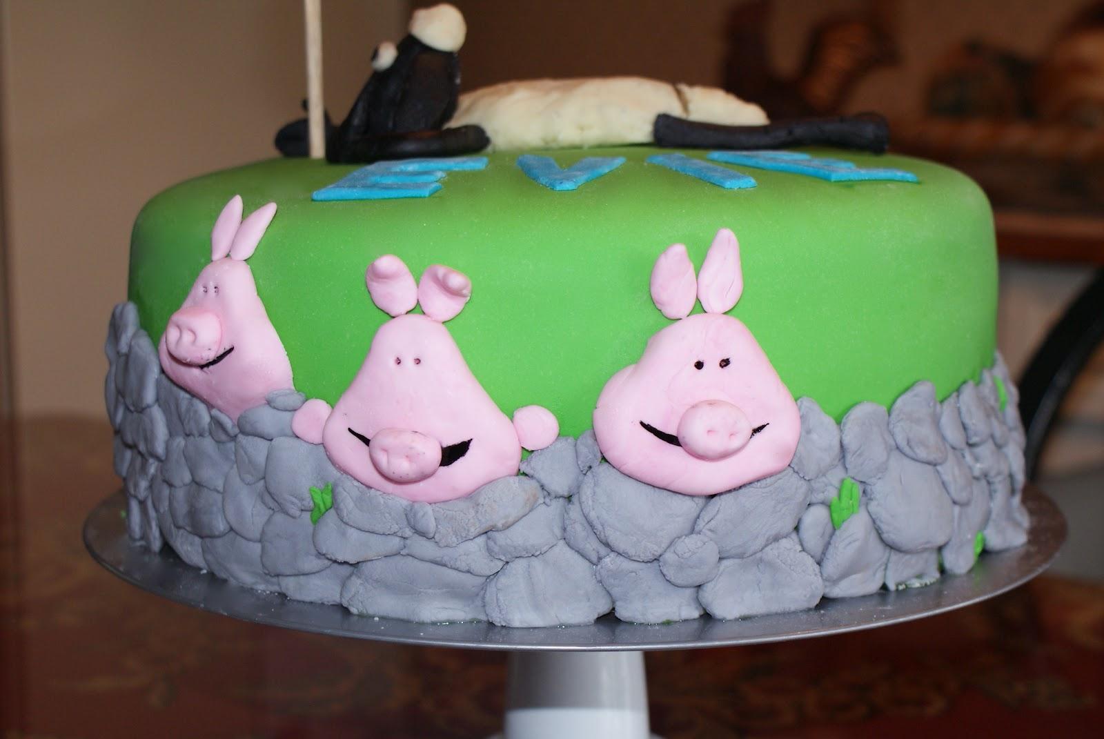 Pyles Of Cake Shaun The Sheep Birthday Cake