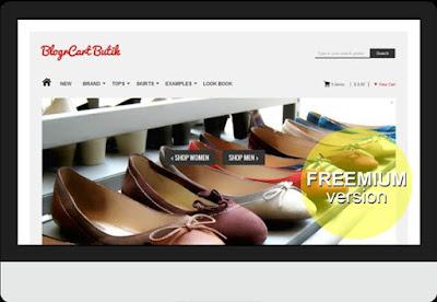 Blogr Cart e commerce blogger template