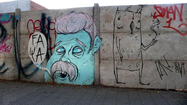 street art in santiago de chile barrio patronato and bellavista arte callejero by faya