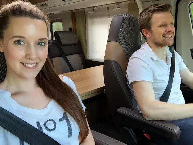 The Great Finnish Road Trip, Road Trip Finland, Camper van selfie