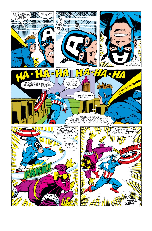 Captain America (1968) Issue #295 #223 - English 20