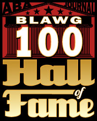 ABA Blawg 100 Hall of Fame 2016