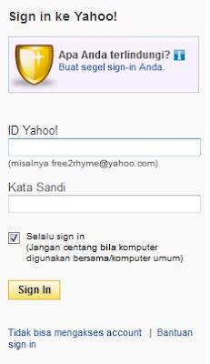 Lupa Password yahoo email ?? Disini Solusinya