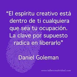 liberar espíritu creativo