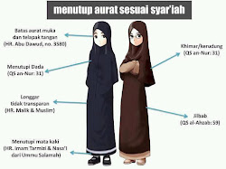 Gamis Muslim Sesuai Syariah
