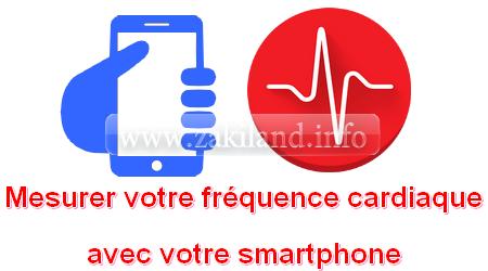 Mesurer votre fréquence cardiaque avec votre smartphone