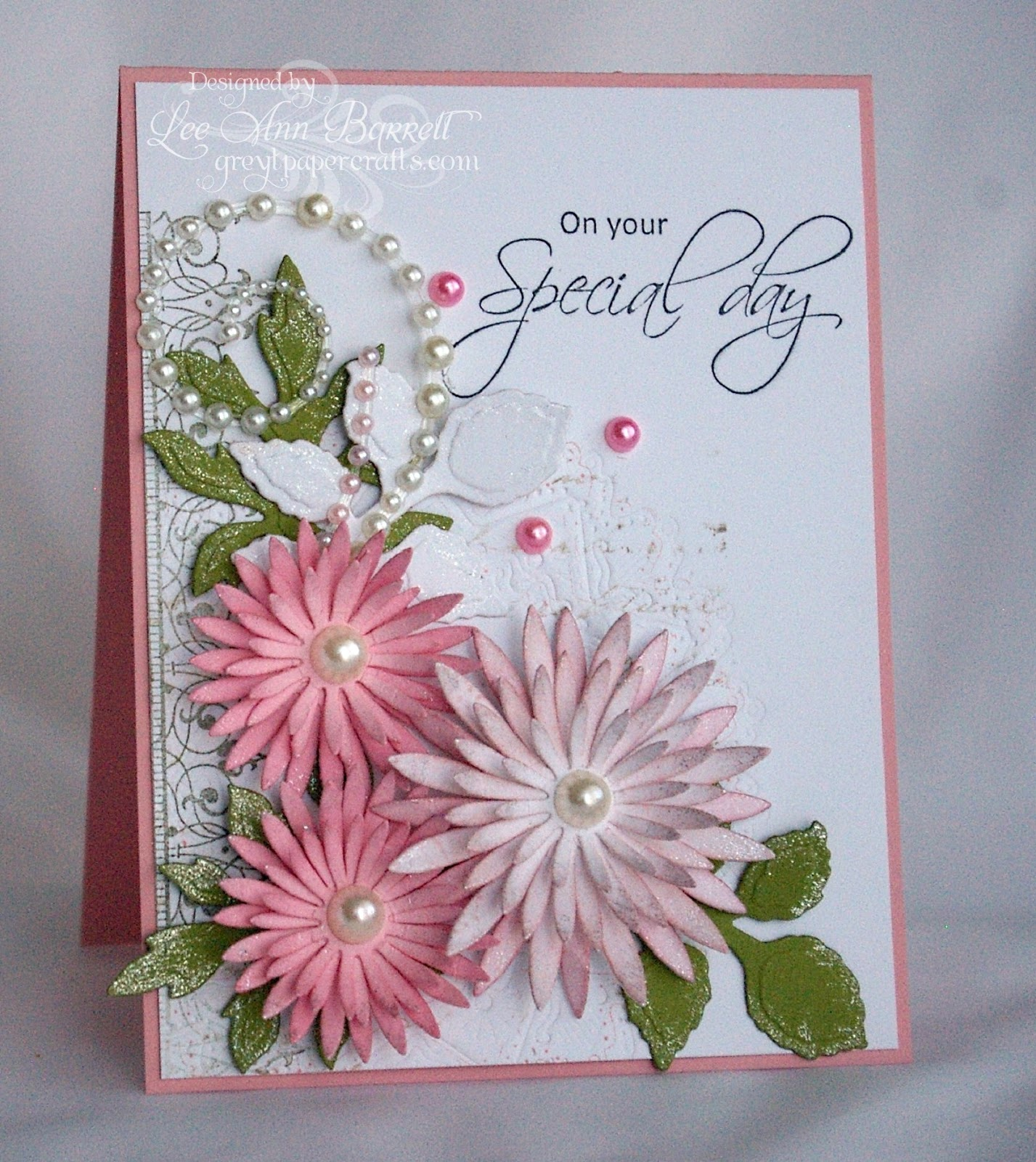 Greyt Paper Crafts Flowers And The Heartfelt Creations Design Team