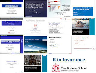 R in Insurance: Presentations are online