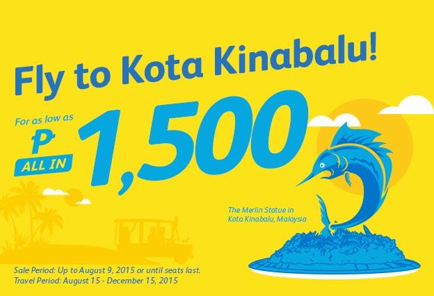 Cebu Pacific Promo Ticket to Malaysia