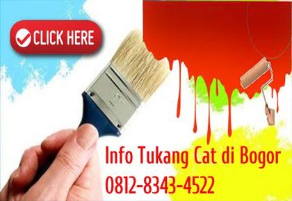 Info Tukang Cat di Bogor