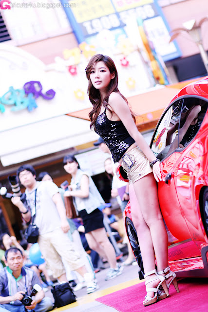 2 Jo Sang Hi at Hyundai Best Dress-up Car Contest 2012-very cute asian girl-girlcute4u.blogspot.com