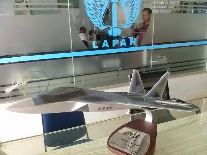 Lapan Hentikan Pengembangan Jet Tempur Siluman