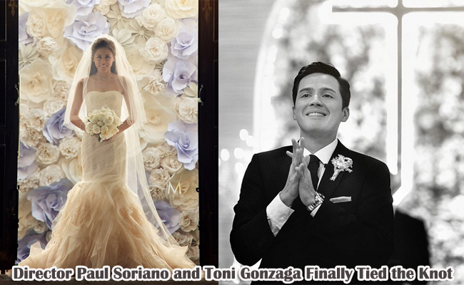 Director Paul Soriano and Toni Gonzaga Finally Tied the Knot