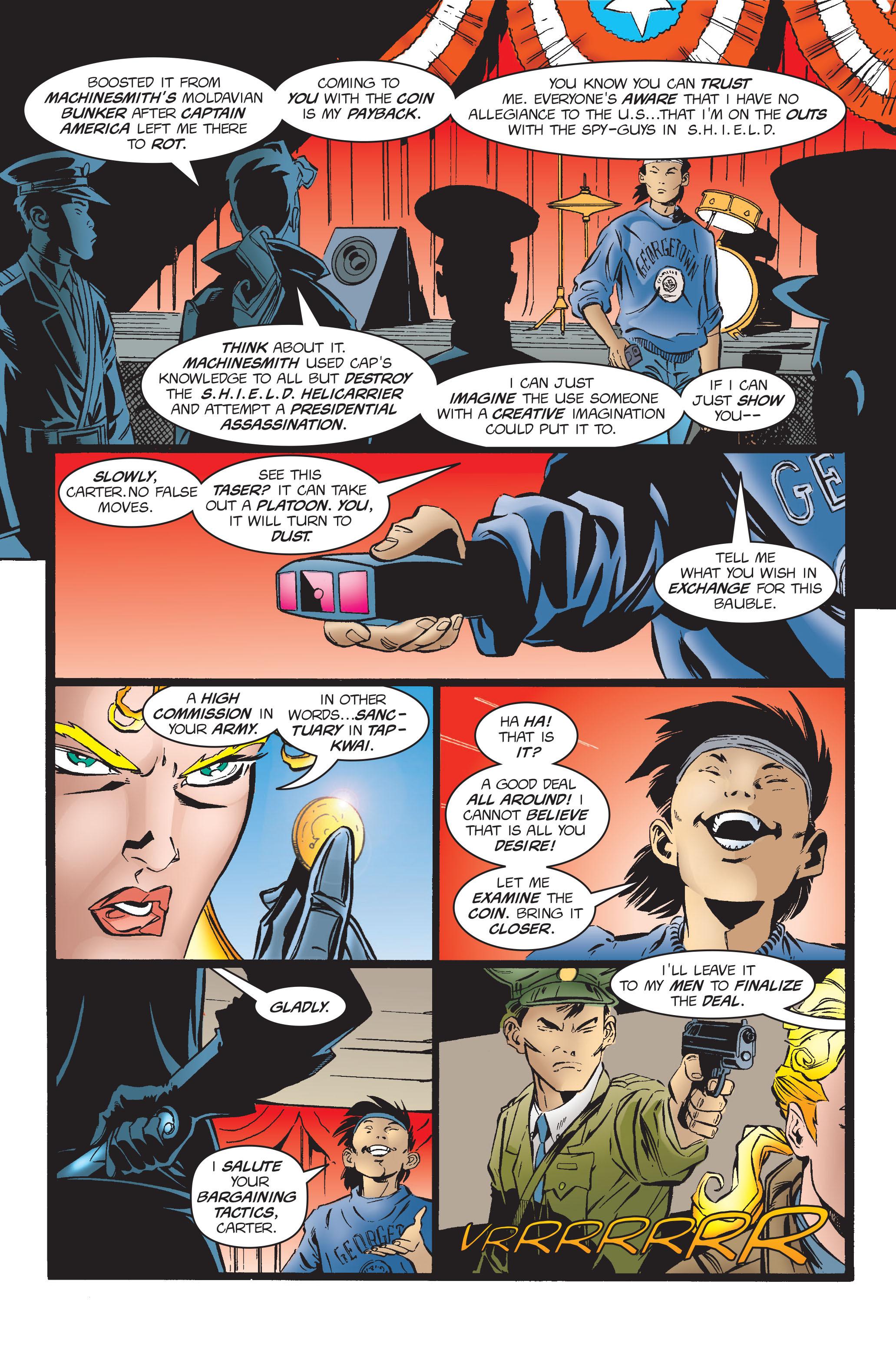 Captain America (1968) Issue #454 #411 - English 3